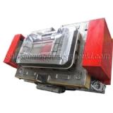SMC mold with vacuum edged