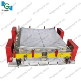 compression mold for solar panel